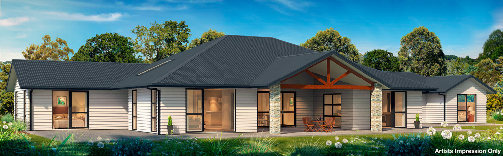 Rural Kauri House plan in whangarei